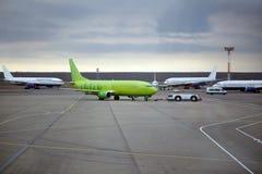 Domodedovo Flughafen. Moskau Lizenzfreies Stockfoto