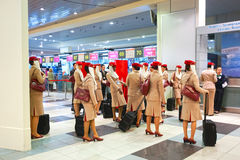 Domodedovo flygplatsinre Arkivfoto