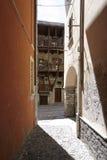 Domodossola, historic Italian city Royalty Free Stock Photo