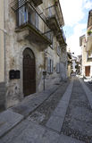 Domodossola, historic Italian city Stock Photo