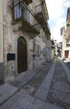 Domodossola, historic Italian city. Domodossola's historic center, tourist Italian towns Stock Photo