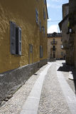 Domodossola, historic Italian city Royalty Free Stock Image