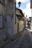 Domodossola, historic Italian city. Domodossola's historic center, tourist Italian towns Royalty Free Stock Photo