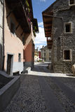Domodossola, historic Italian city Royalty Free Stock Photo