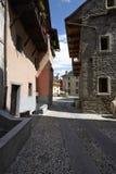 Domodossola, historische italienische Stadt Lizenzfreies Stockfoto