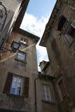 Domodossola, historische italienische Stadt Lizenzfreies Stockbild