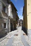 Domodossola historisk italiensk stad Fotografering för Bildbyråer
