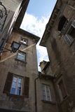 Domodossola historisk italiensk stad Royaltyfri Bild