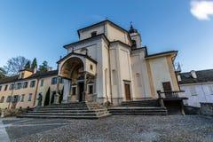 Domodossola, Sacro Monte Del Calvario Fotografia Royalty Free