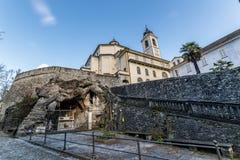 Domodossola, Sacro Monte del Calvario Stock Images
