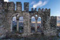 Domodossola, Sacro Monte del Calvario Stock Image