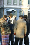 Domogarov, Efremov, Ishmukhamedov Stock Photo