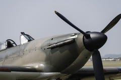 Domokrążcy Huragan samolot szturmowy Zdjęcie Stock