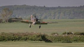 Domokrążcy rocznika Huraganowy samolot fotografia royalty free
