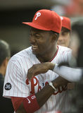 Domonic Brown. Outfielder, Philadelphia Phillies Royalty Free Stock Image