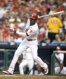 Domonic Brown. Outfielder, Philadelphia Phillies Royalty Free Stock Photo
