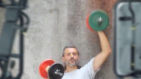Domoor opleidingsoefening stock video