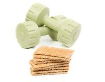 Domoren en brood Stock Fotografie