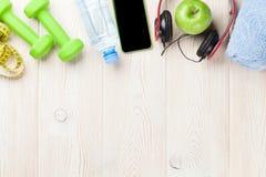 Domoren, water en muziek Stock Foto