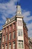 Domowa Amsterdam fasada Zdjęcia Stock