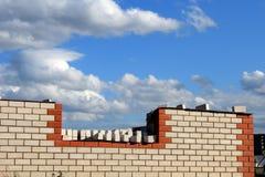 Domowa budowa. Obraz Stock