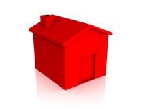 domowa czerwień Obraz Royalty Free