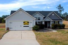 domowa foreclosure sprzedaż Zdjęcia Stock