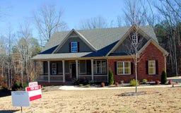 domowa foreclosure sprzedaż Zdjęcie Stock