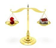Domowa hipoteka Obraz Royalty Free