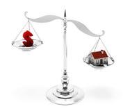 Domowa hipoteka Fotografia Stock