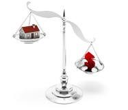 Domowa hipoteka Zdjęcie Royalty Free