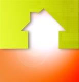 domowa ikona Zdjęcia Royalty Free