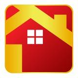 domowa ikona Obraz Royalty Free
