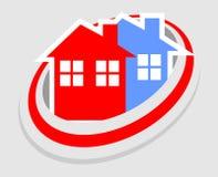 Domowa ikona Obraz Stock