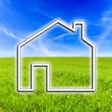 Domowa ikona Zdjęcia Stock