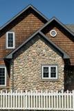 domowa kamienna ściana Fotografia Royalty Free