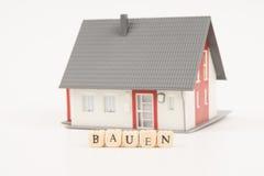 Domowa konstrukci niemiec Zdjęcia Royalty Free