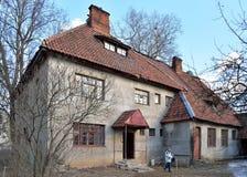 Domowa nieruchomość karykaturzysta P e serbova wewnątrz Fotografia Stock