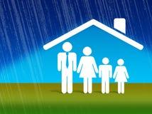 domowa ochrony finansowa Fotografia Royalty Free