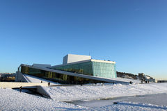 domowa opera Oslo Obraz Stock
