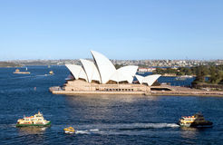 domowa opera Sydney Obraz Royalty Free