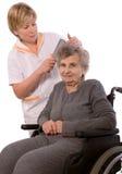 domowa pielęgnacja Obraz Royalty Free
