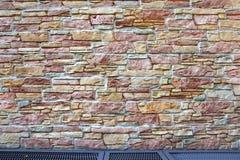 Domowa powierzchowność Z Kamienną ścianą i podłoga Obraz Royalty Free