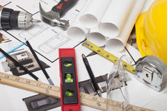 Domowa projekt budowa Zdjęcie Stock
