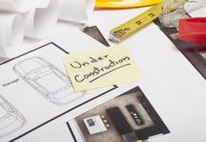 Domowa projekt budowa Obraz Stock
