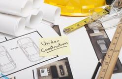 Domowa projekt budowa Fotografia Stock