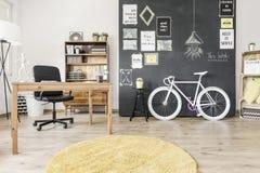 Domowa przestrzeń roweru kochanek Zdjęcia Royalty Free