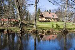 domowa rzeka Zdjęcie Stock