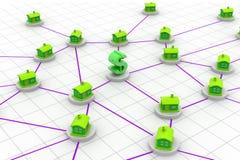 Domowa sieć Zdjęcie Stock