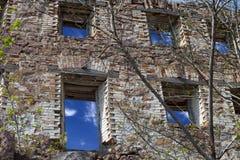 domowa stara ściana Fotografia Stock